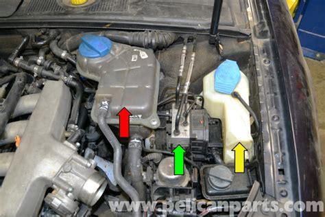 audi   brake pressure sensor replacement