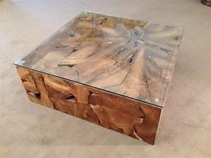 Wurzelholz Tisch Mit Glasplatte : couchtisch wohnzimmertisch aus wurzelholz der tischonkel ~ Bigdaddyawards.com Haus und Dekorationen