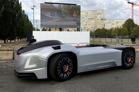 volvo showcases vera   driving electric truck