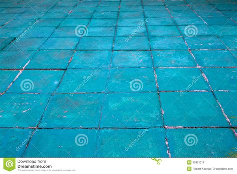 aqua floor aqua painted floor royalty free stock photography image 15851317