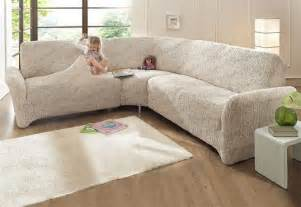 sofa hussen ecksofa ecksofa husse beige stretchhusse sofahusse husse stretch sofa bezug ebay