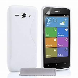 Caseflex Huawei Ascend Y530 Silicone Gel S-line Case