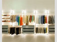 Walk in closets and open wardrobe systems custommade