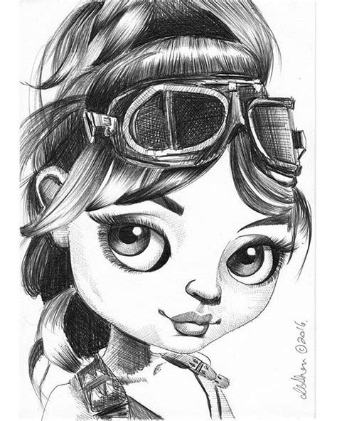 Blondie - Fox and Doll Baby | Doll drawing, Pictures to
