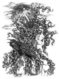 Tattoo sketch Mother Nature   Tattoo Drawings/Design