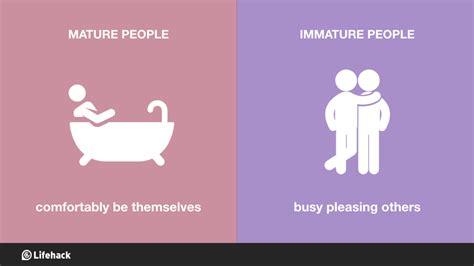 characteristics  mature people