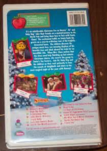 Barney Christmas VHS eBay