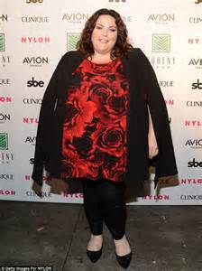 actress young kate this is us this is us star chrissy metz reveals mom took her to