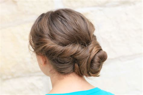 Twisting Hairstyles by Easy Twist Updo Prom Hairstyles Hairstyles