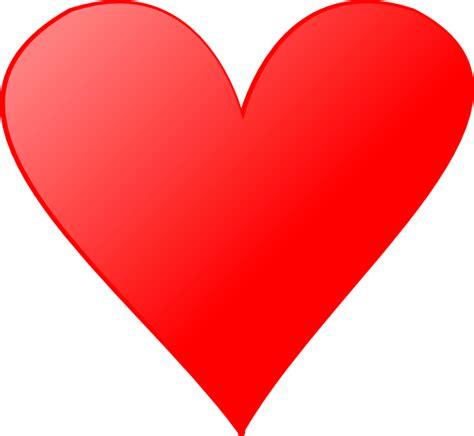 hearts card heart 4 clip art at clker com vector clip art online royalty free public domain