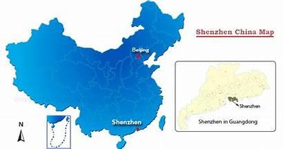 Shenzhen Map China Guangzhou Guangdong Maps Canton