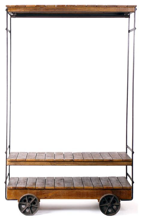 rolling clothes rack pdf diy wooden rolling rack wooden pallet