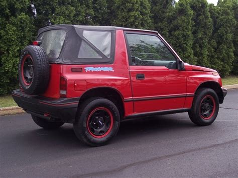 1994 chevy tracker 1994 geo tracker information and photos momentcar