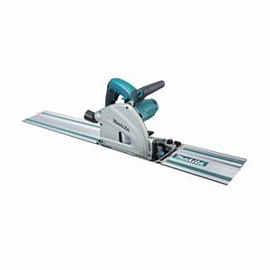 Makita Sp6000j1 6 2 U0026quot  Plunge Circular Saw  55 U0026quot  Guide Rail