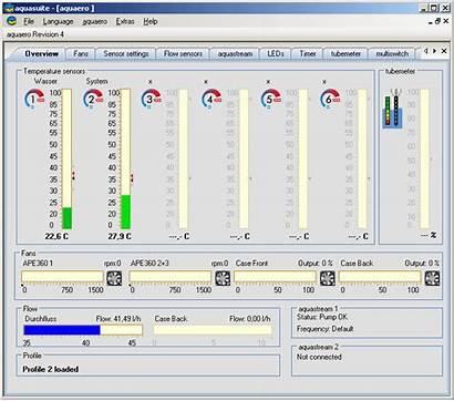 Fan Control Software Computer Pc Controller Aqua