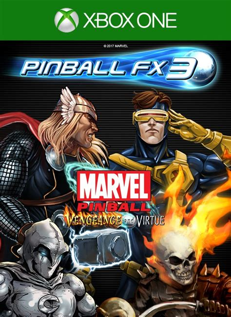 pinball fx3 marvel pinball vengeance and virtue on xbox one