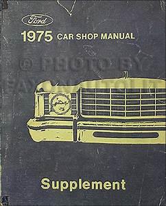 1975 Ford Torino  Gran Torino  Elite  And Ranchero Foldout Wiring Diagram Original