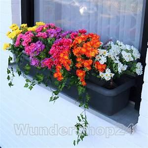 Künstliche Blumen Für Balkonkästen : balkonblumen dendranthema balkon blumen seidenblumen ~ A.2002-acura-tl-radio.info Haus und Dekorationen