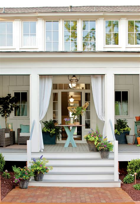 summer curb appeal  fun ways  decorate  homes