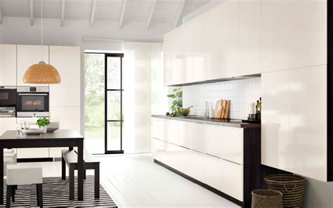 cuisine ikea blanc brillant cuisine ikea blanc brillant cuisine en image