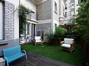 Paris 17e : Appartement jardin dans immeuble Art Déco Agence EA Paris