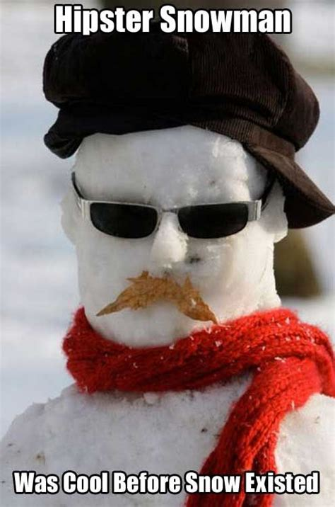hipster snowman pictures   images  facebook