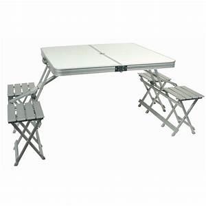Table De Camping Leclerc : table valise midland ~ Dailycaller-alerts.com Idées de Décoration