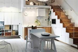 Cuisine Studio Ikea : lot central cuisine ikea et autres l 39 espace de cuisson ~ Melissatoandfro.com Idées de Décoration