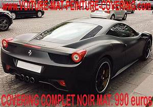 Ferrari 458 Noir : ferrari 458 noir mat 16 ~ Medecine-chirurgie-esthetiques.com Avis de Voitures