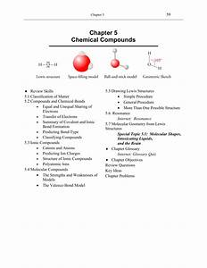 Chapter 5 Chemical Compounds
