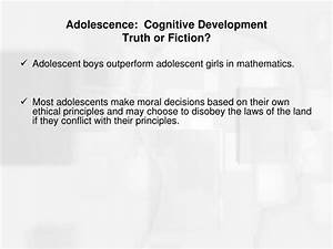 PPT - Adolescence: Cognitive Development Learning ...