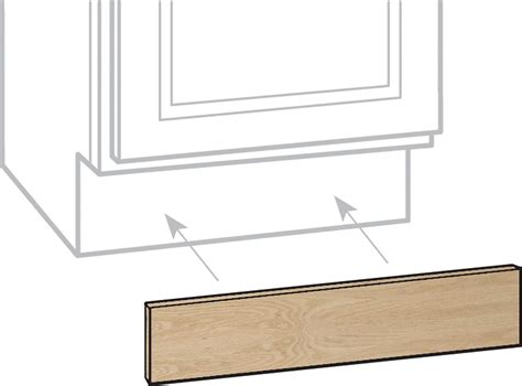 Unfinished Oak Cabinets Home Depot Canada by Unbranded Unfinished Oak 4 5x96 Toe Kick Mldg The Home