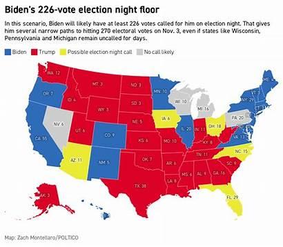 Biden Election Trump Night Donald Joe Politico