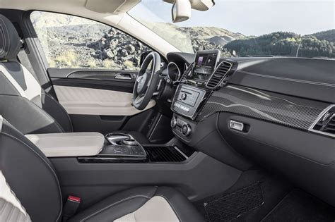 mercedes benz gle  amg coupe interior photo