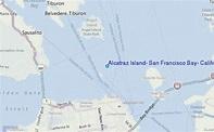 Alcatraz Island, San Francisco Bay, California Tide ...