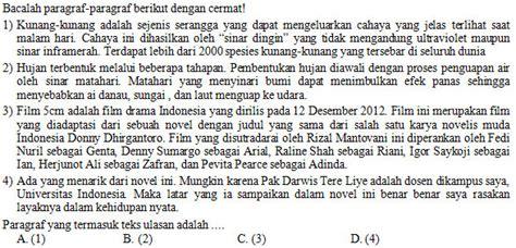 Demikian kumpulan soal uas /pas smp/mts kelas 7 semester 1 (ganjil) kurikulum 2013 dan ktsp yang bisa kami bagikan. Kisi-kisi, Soal dan Kunci Jawaban Bahasa Indonesia SMP ...
