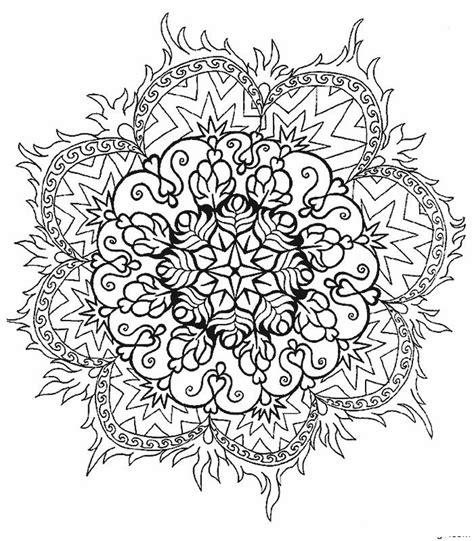 Mandala Kleurplaten by Kleurplaten En Zo 187 Kleurplaten Mandala