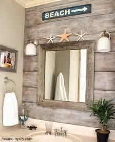 Wall Ideas For Bathroom Coastal Wall Treatment Ideas For The Bathroom Murals Stripes Panelling Shelving More