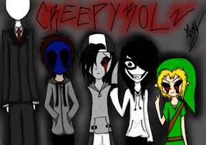 Scary Creepypasta Characters