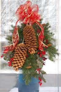 large pine cone craft christmas pinterest