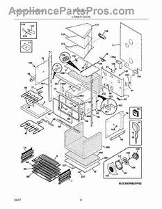 Parts For Electrolux E30ew85eps3  Lower Oven Parts