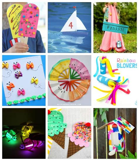 easy summer crafts that anyone can make happiness 717 | PicMonkey Collage2