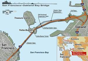 San Francisco Oakland Bay Bridge Map