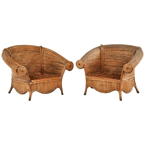 rattan chairs for sale at 1stdibs