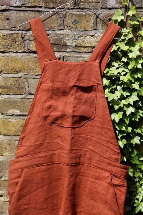 How to make Linen overalls. This should complete my
