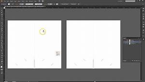 How to set up a presentation folder in adobe illustrator for Pocket folder template illustrator