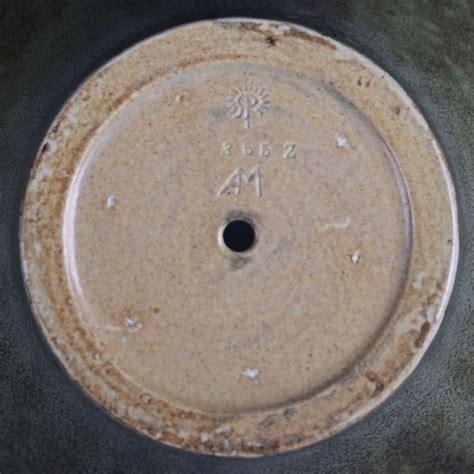 Large Rookwood Carved Green Vase Albert Munson 1901