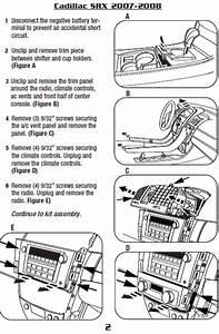 2007 Cadillac Srx Installation Parts  Harness  Wires  Kits