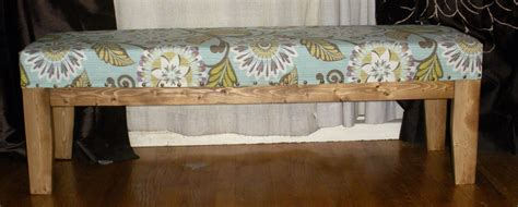 ana white easiest upholstered bench diy projects