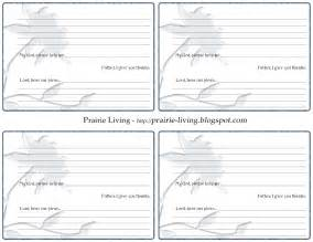 Free Printable Prayer Request Card Template